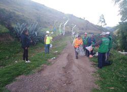 Mantenimiento rutinario de Camino Vecinal tramo: SANKA CUSIBAMBA